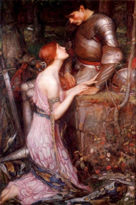 The knight(John William Waterhouse)