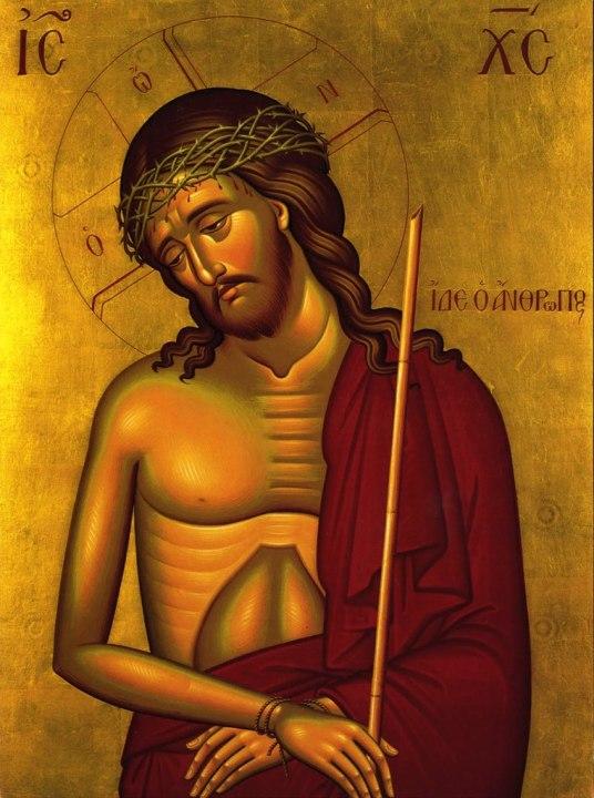 Jesus in jail(icon)
