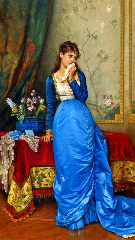 The letter(Auguste Toulmouche)
