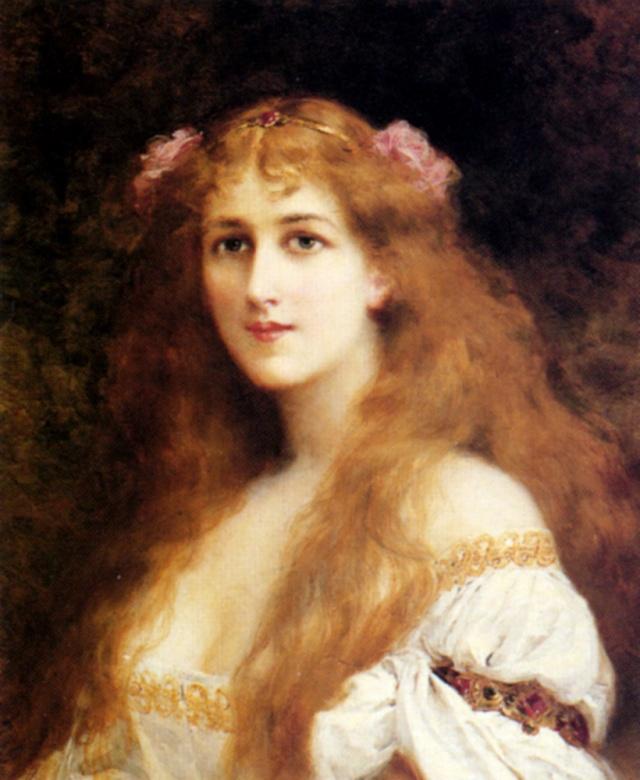 Ophelia(Edouard Francois Zier)