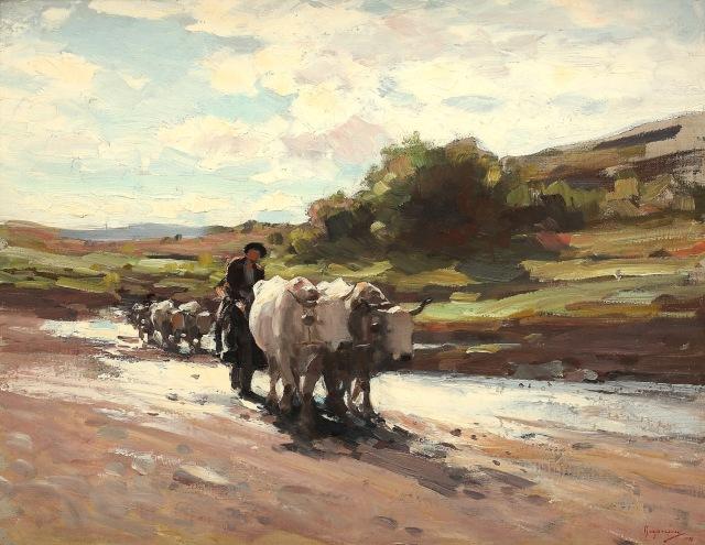 Car cu boi(Nicolae Grigorescu)
