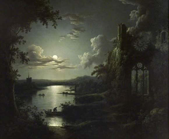 A ruined gothic churc(Sebastian Peter)