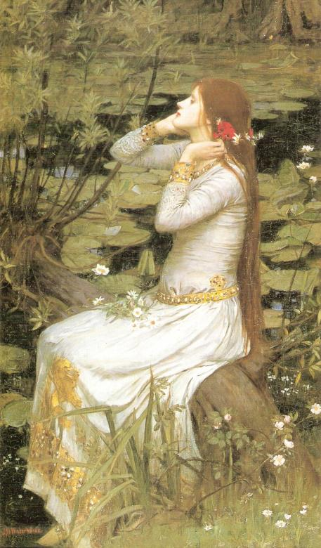Ophelia(John William Waterhouse)