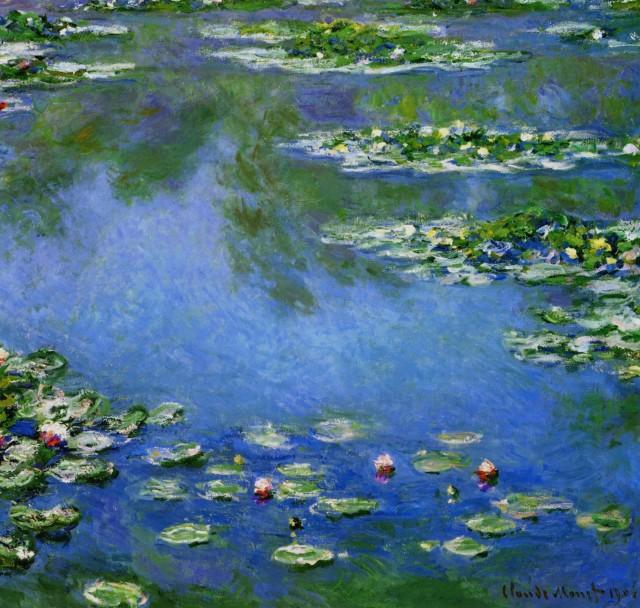 Water lilies(Claude Monet)