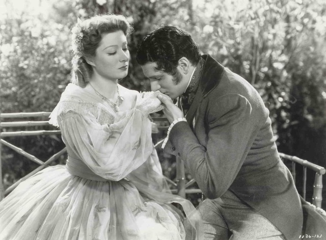 Elizabeth and Mr. Darcy from Pride and prejudice 1940