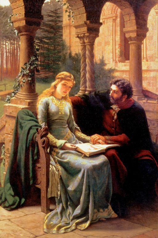 Abelard and Heloise(Edmur Blair Leighton)