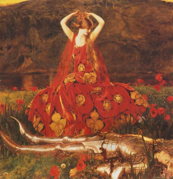 La belle dame sans merci(Franck Dicksee)
