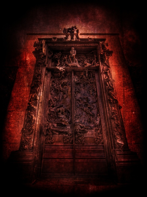 The gates of Hell (Auguste Rodin)