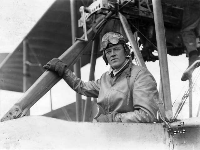 Aviator in First World War